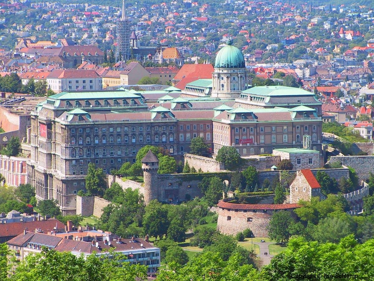 Ungarn, Budapest, Burgpalast
