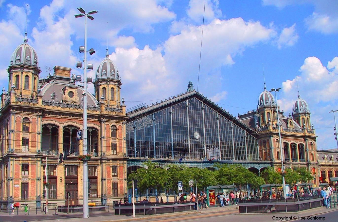 Ungarn, Budapest, Westbahnhof