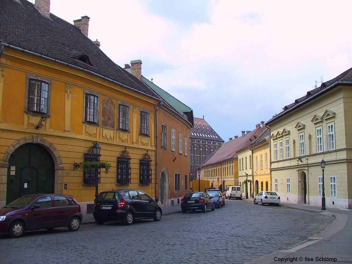 Ungarn, Budapest, Stadtteil Buda, Straßenansicht