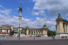 Ungarn, Budapest, Heldenplatz
