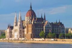 Ungarn, Budapest, Parlamentsgebäude