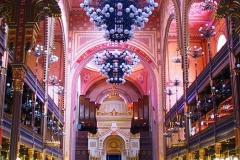 Ungarn, Budapest, Große Synagoge, Innenansicht, Langhaus