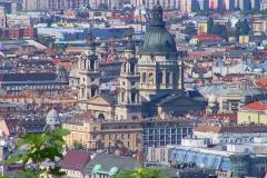 Budapest, Blick auf die St. Stephans Basilika