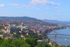 Budapest, Blick auf den Burgpalast