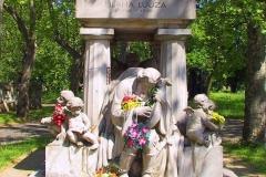Ungarn, Budapest, Kerepescher Friedhof, Lujza Blaha Grab