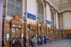 Ungarn, Budapest, Westbahnhof von innen