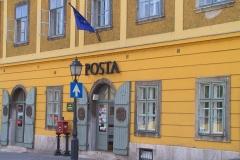 Budapest, Alte Post im Stadtteil Buda