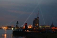 Bremerhaven bei Nacht 2014