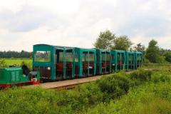 Cuxland, Wanna-Ahlen-Falkenberg 2017, Moorbahn im Ahlenmoor