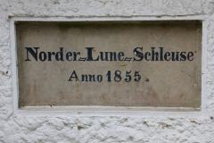 Cuxland, Loxstedt-Lanhausen 2017, Alte Luneschleuse