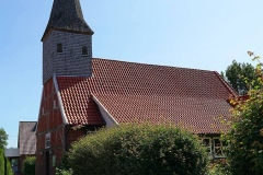 Cuxland, Schiffdorf-Altluneberg 2020, Kirche