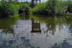 Cuxland, Beverstedt-Freschluneberg 2021, Kanuanleger Otterbiotop