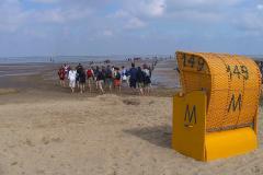 Cuxland, Cuxhaven-Sahlenburg 2007, Aufbruch zur Insel Neuwerk