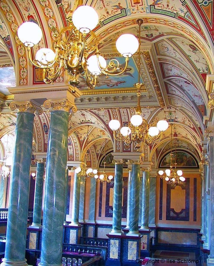 Dresden, Semperoper, Innenansicht