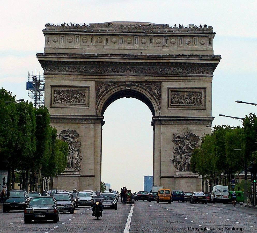 Frankreich, Paris, Arc de Triomphe