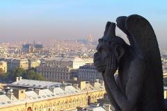 Frankreich, Paris, Blick vom Notre-Dame, Wasserspeier (Gargouille)