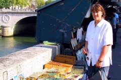 Frankreich, Paris, Bouquinisten an der Seine