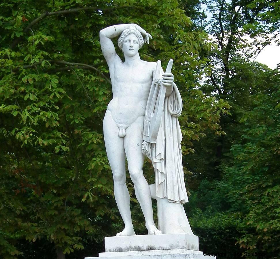 Potsdam, Das neue Palais, Skulptur