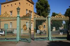 Potsdam, Park Sanssouci, Das grüne Gitter