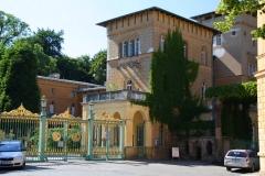 Potsdam, Park Sanssouci, Pfarr- und Schulhaus
