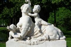 Potsdam, Park Sanssouci, Skulptur Sphinx