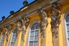 Potsdam, Schloss Sanssouci, Bacchanten und Bacchantinnen