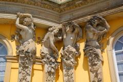 Potsdam, Schloss Sanssouci, Bacchantinnen