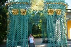Potsdam, Schloss Sanssouci, Sonnen-Gitterpavillon