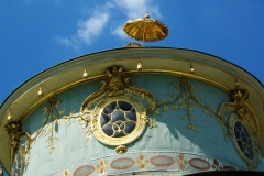 Potsdam, Chinesisches Teehaus, Kuppel