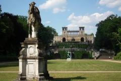Potsdam, Reiterstandbild Friedrich II. vor dem Orangerieschloss