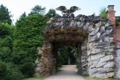 Potsdam, Felsentor zum Nordischen Garten