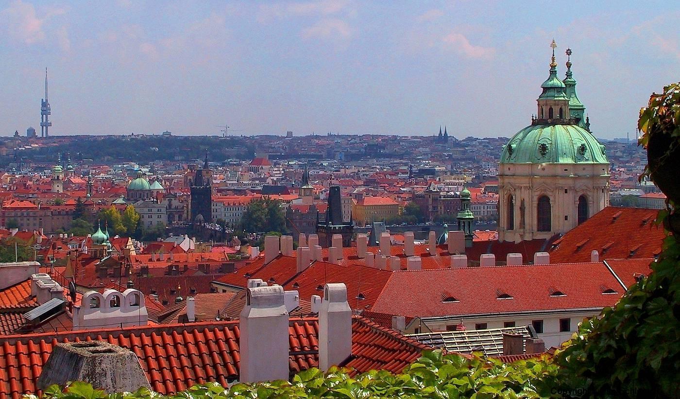 Tschechische Republik, Prag, Blick vom Hradschin