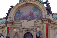 Prag, Jugendstil-Gebäude Gemeindehaus