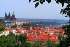 Prag, Blick vom Hradschin