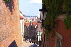 Prag, Abstieg vom Hradschin