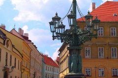 Prag, alte Straßenlaterne