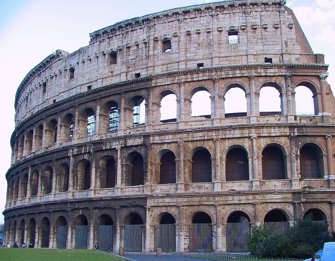 Italien, Rom, Kolosseum