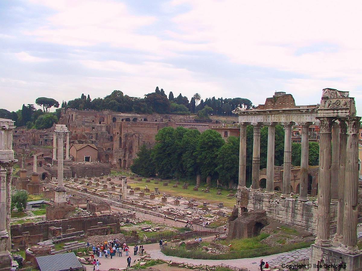 Italien, Rom, Forum Romanum