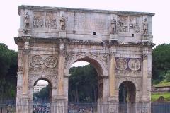 Italien, Rom, Konstantinsbogen