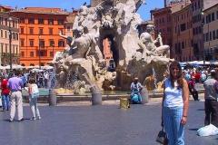 Rom, Vierströmebrunnen auf der Piazza Navona