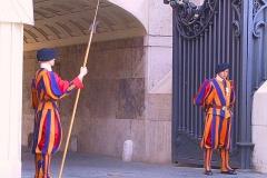Italien, Rom, Petersdom, Schweizergarde