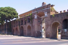 Italien, Rom, Stadtmauer