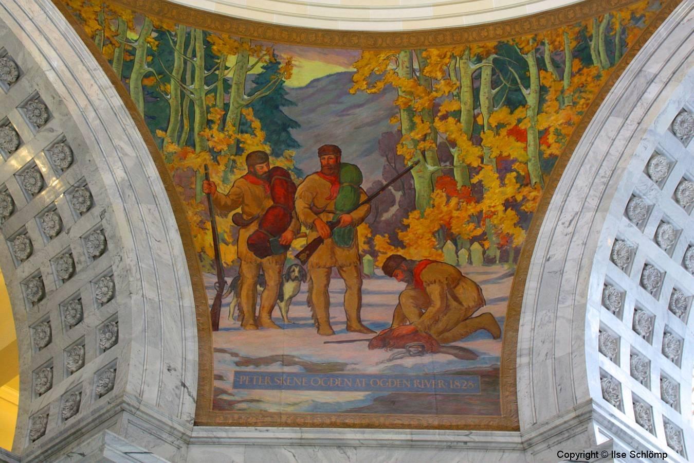 Salt Lake City, Utah State Capitol