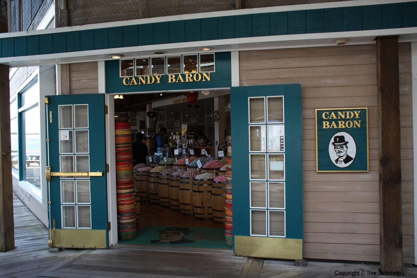 San Francisco, Fisherman's Wharf, Candy Baron