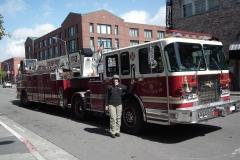 San Francisco, Feuerwehrfahrzeug