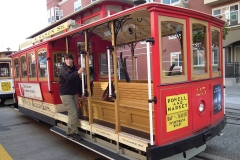 """San Francisco, Cable Car, Ein Gefühl wie in """"Die Straßen von San Francisco"""""""