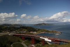 San Francisco, Blick von der Golden Gate Bridge