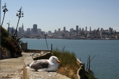 San Francisco, Blick von Alcatraz auf San Francisco