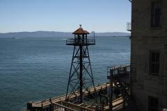 San Francisco, Alcatraz, Wachturm
