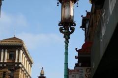 San Francisco, Chinatown, Schöne Straßenlaterne